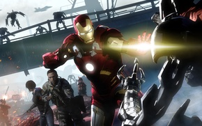Picture marvel, Iron Man, fan art, tony stark