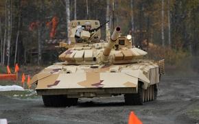 "Picture power, beauty, power, tank, Russia, military equipment, pride, modernization, UVZ, T-72 ""City"""