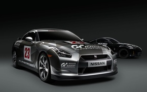 Picture nissan 350z, nissan GTR, academy