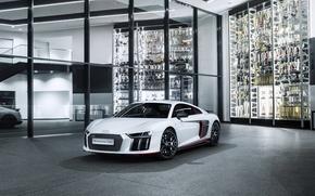 Picture white, Audi, Audi, supercar