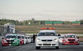 Picture Lada, Lada, Cars, Racing, Lada Granta CUP