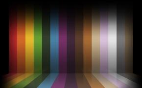 Picture color, line, pseudo 3D