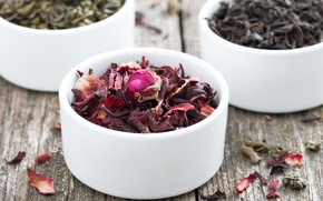 Picture petals, petals, dry tea, the dry tea