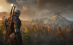 Picture the Witcher, rpg, Geralt, the wild hunt, wild hunt, the witcher 3, cd Projekt red