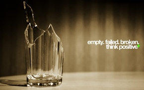 Wallpaper glass, background, mood, the inscription, Wallpaper, art, image, broken