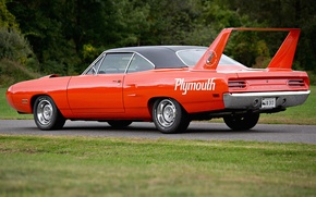 Picture muscle car, Plymouth, Plymouth, Superbird, Road Runner