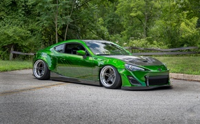 Picture toyota, gt86, green tuning