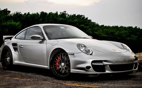 Picture Porsche, Sport, Machine, Car, Porsche, Car, Beautiful, Wallpapers, Tuning, Beautiful, Wallpaper, Kar, Silver, 977, 360Forged