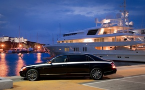Wallpaper machine, Maybach, Maybach, yacht