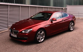 Picture Red, Auto, BMW, Machine, Boomer, BMW, Coupe, 6 Series