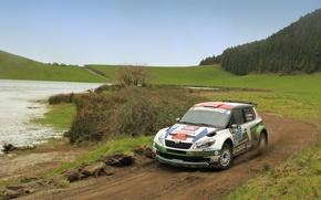 Picture Auto, Sport, Race, Rally, Rally, Skoda, Fabia, Fabia, Skoda