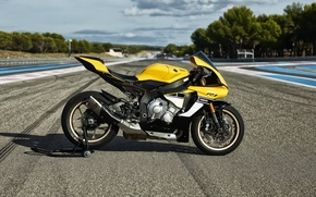 Picture Yamaha, Special, Moto, Track, Superbike, 2016, Sportbike