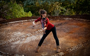 Wallpaper violin, beauty, violin, Lindsey Stirling, Lindsey Stirling, violinist