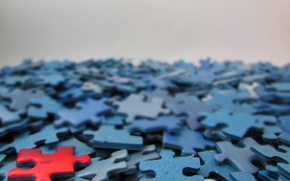 Wallpaper macro, puzzle, background