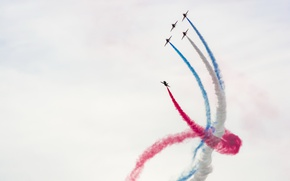 Picture Sky, Playing, Red Arrows