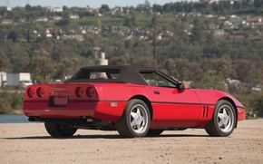 Picture Chevrolet, convertible, Chevrolet, Corvette, Twin Turbo, Corvette c4