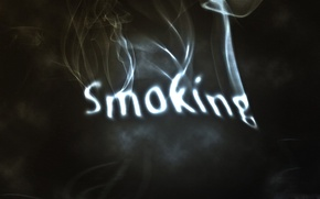 Picture the inscription, smoke, smoking, cigarette, Smoking