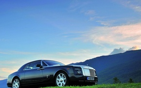 Wallpaper the sky, rolls royce