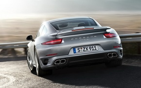 Picture road, sunset, 911, Porsche, Car