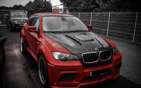 Picture BMW, Hamann, X6M, Tuning, RED, Jeep