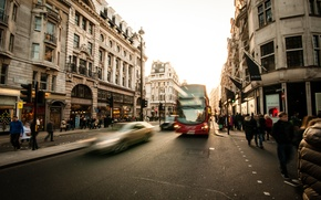 Picture movement, people, transport, street, home, bus