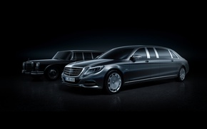 Picture Mercedes, Maybach, Pullman, 2016, S 600, VV222, Mercedes-Maybach