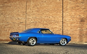 Picture auto, blue, Chevrolet, muscle car, chevrolet camaro