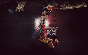 Picture Basketball, Toronto, NBA, Toronto, Raptors, Slam Dunk, Hang, Raptors, Terrence Ross, Terrence Ross