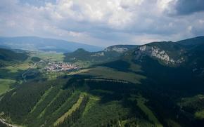 Picture green, Nature, trees, nice, Slovakia, Beatiful, Liptov, Valaska Dubova
