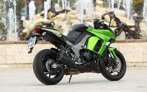 Picture Kawasaki, Green, Z1000SX
