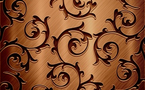 Wallpaper texture, chocolate color, twigs