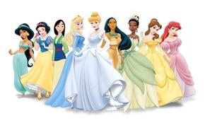 Wallpaper figure, characters, disney, disney, Princess