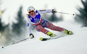 Picture Russia, skiing, Sochi 2014, The XXII Winter Olympic Games, Daria Astapenko