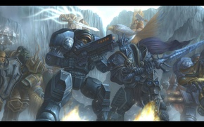 Picture starcraft, Warcraft, arthas, Jim Raynor, Thrall, Tyrael, Heroes of the Storm, Archangel of Justice, Malfurion, …