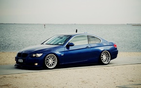 Picture BMW, Tuning, BMW, Drives, Coupe, E92, Coupe, Side, E92