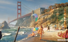 Picture Art, Ubisoft, San Francisco, Game, Watch Dogs 2