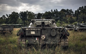 Wallpaper tank, army, weapons