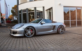 Picture Porsche, bokster, Porsche, Roadster, Boxster, TechArt