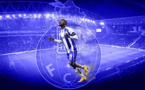 Picture wallpaper, sport, logo, stadium, football, player, FC Porto, Jackson Martinez, Estadio by'm glad