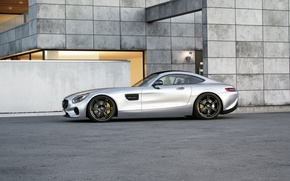 Picture Mercedes-Benz, AMG, Wheelsandmore, Side, Silver, Tuned, 600HP