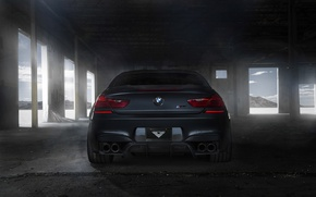 Picture black, tuning, BMW, BMW, back, black, Coupe, tuning, F13