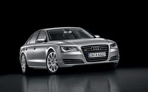 Wallpaper silver, Audi