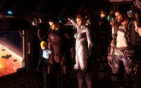Picture Boba Fett, sarah kerrigan, Jim Raynor, halo, samus aran, metroid, master chief, shepard, starcraft, crossover, ...