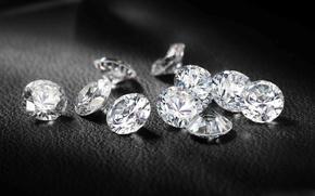 Picture stones, diamonds, jewel macro