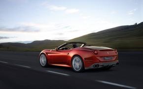 Picture Ferrari, CA, Ferrari, Turbo, Back, California T