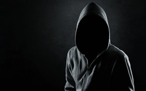 Picture dark, black, shadows, mysterious, hooded, faceless