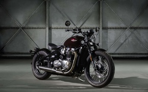 Picture bonneville, triumph, motorbike, bobber