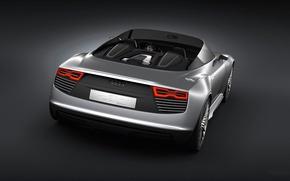 Picture Audi, the concept, convertible, Spyder, e-Tron