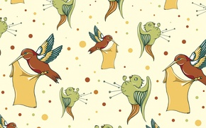 Picture birds, vector, texture, birds, illustration, hand drawn birds