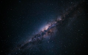 Picture space, stars, night, the milky way